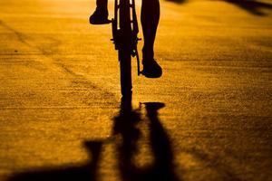 Folke Granath i Karlskoga glömmer inte sitt livs första cykel. Arkivfoto: TT