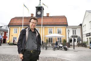 Reidar Carlsson jobbar som ledarskribent på Norrtelje tidning.