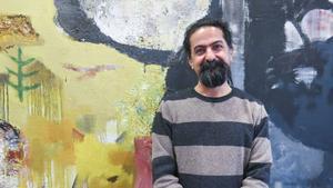 Seywan Saeedian hoppas på att Gävlebor kan bidra med metallskrot till hans konst.