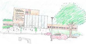 Så här tänker sig skribenterna att ett Campus Nynäshamn kan se ut.
