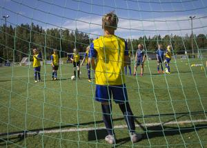 Fotbollsskolan i Norrala är gratis för andra året i rad, tack vare bidrag från Söderhamns kommun.