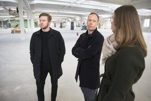 Stefan Edberg, operativ chef, Mikael Arnåsen, vd, och Charlotte Askenbom, projektledare, har stora förväntningar på framtiden för företaget.
