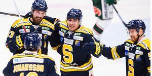 SSK vann med 4-0 borta mot Leksand i december.  Foto: Dennis Ylikangas/Bildbyrån