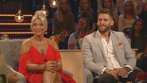 Simon Hermansson valde Patricia Hanjikova i Bachelor. Nu berättar han att han ångrar sitt val. Foto: TV4