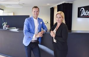 Great Space storsatsar i Metropolhuset, som byggs om av Diös. Petter Ekman och Petra Abrahamsson räknar med att ha verksamheten i full gång i november 2019.