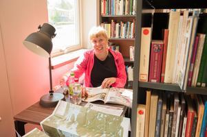 Hanna Brus hade cyklat från Ludvika och passade på att besöka invigningen av de nya lokalerna.