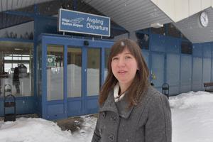 Lina Westman är långt ifrån nöjd med hur Nextjet sköter sin flygtrafik mellan Kramfors och Stockholm.