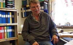 """""""Det är en tävling om jobben varje gång"""", säger Jan Arnesson. Foto: Birgit Nilses Gröndahl/DT"""