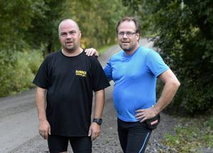 Göran Zetterqvist och Rustan Östling är inte oroliga för egen del men tycker att det är sorgligt att kvinnor begränsas.