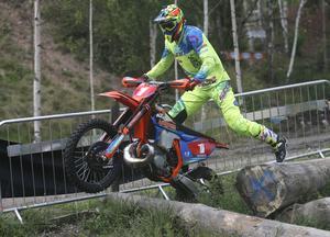 Joakim Ljunggren tog karriärens 16:e SM-guld i enduro. Arkivfoto