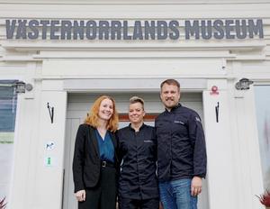 Jenny Samuelsson, Nina Johansson och Fredrik Öström. Foto: Pawel Maronski/Alltid Marknadsbyrå