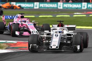 Marcus Ericsson var bäst av alla förare utanför de tre toppteamen i lördagens kval till söndagens race i Brasilien. Foto: Sauber Motorsport