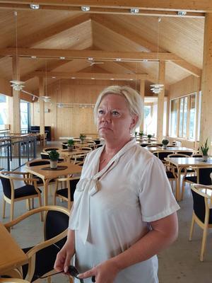 Ann-Sofie Rebermark, ordförande i kvinnojouren i Avesta tycker det är hemskt hur kvinnor far illa i hedersförtryck och kvinnovåld. Foto: Annelie Olsson/Vice ordförande i Kvinnojouren.