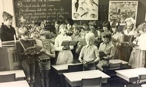Rönnbyskolan 1977. Foto: Ulf Axelson/VLT:s arkiv