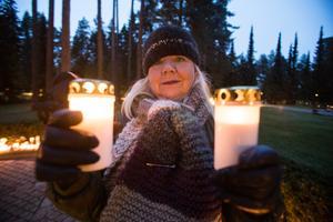 – Det var en stor förlust när mamma och pappa gick bort, sa Kerstin Fors som vill hedra dem med ljus under allhelgonahelgen.
