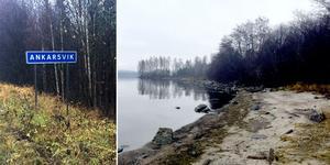 Området Beteshagen på Alnö ligger vid Raholmsvägen i Ankarsvik, ner mot strandremsan. T