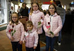 Systrarna Bahtiri: Sara, Sofia, Vanessa och Elsa.