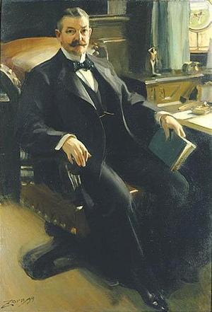 Magnaten Henry Clay Pierce fick sitt porträtt målat, men var missnöjd. Han fick dock krypa till korset och betala – utan ändringar.