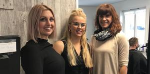 Annika Sundt med sina kollegor Kajsa Thunell och Maria Karlsson.