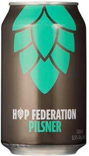 Hop Federation Pilsner.