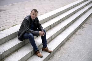 """""""Jag är något av en ofrivillig skådespelare"""", säger Anders Widmark om det faktum att han har en stor roll i sin egen film. Foto: Janerik Henriksson/TT"""
