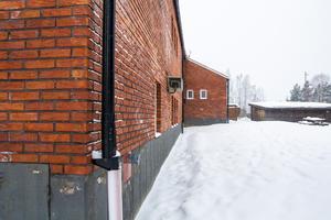 På förskolans nya innergård kommer en liten skolgård att byggas.