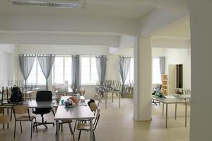 I dag är fabrikslokalen matsal för byggarbetare. Troligtvis kommer den att byggas om till bostäder.