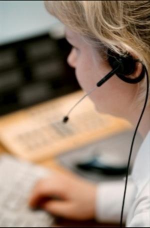 Avesta kommun vill att polisens telefonväxel för den nya polisregionen placeras i Avesta. Foto: Fredrik Persson / TT Nyhetsbyrån