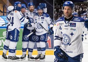 Jesper Ollas (höger) tror att LIF har något stort på gång inför nästa säsong. Foto: Bildbyrån.