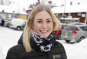 Linda Hjerpe berättar att flera företag som samarbetar med Melodifestivalen kommer finnas på plats.