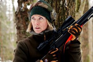 Som jägare gäller det att vara lyhörd och ha kunskap nog att kunna ta snabba beslut, säger Ulrika Karlsson Arne.