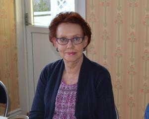 Lillemor Martinsson var en av många drabbade av strömavbrottet på torsdagen. Foto: Privat