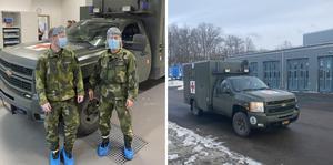 Idag inleder Trängregementet en insats i Blekinge där soldater stöttar sjukvården i Region Blekinge.