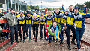 SNO vann prestigefyllda Tiomila i Falun 2016 – och tog med den bedriften också hem Telgebragden. Foto: Ulf Palm/TT.