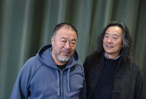 Den kinesiske konstnären Ai Weiwei och poeten Yang Lian är i Malmö för att presentera boken