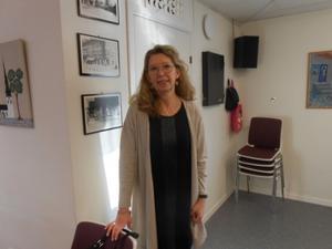 Lena Reyier besökte PRO Kvarnsveden och pratade om hälsa.