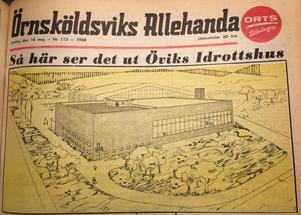 ÖA:s förstasida den 18 maj 1968.