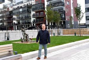 Olof Nyberg är vd på Norra Kajen Exploatering AB.