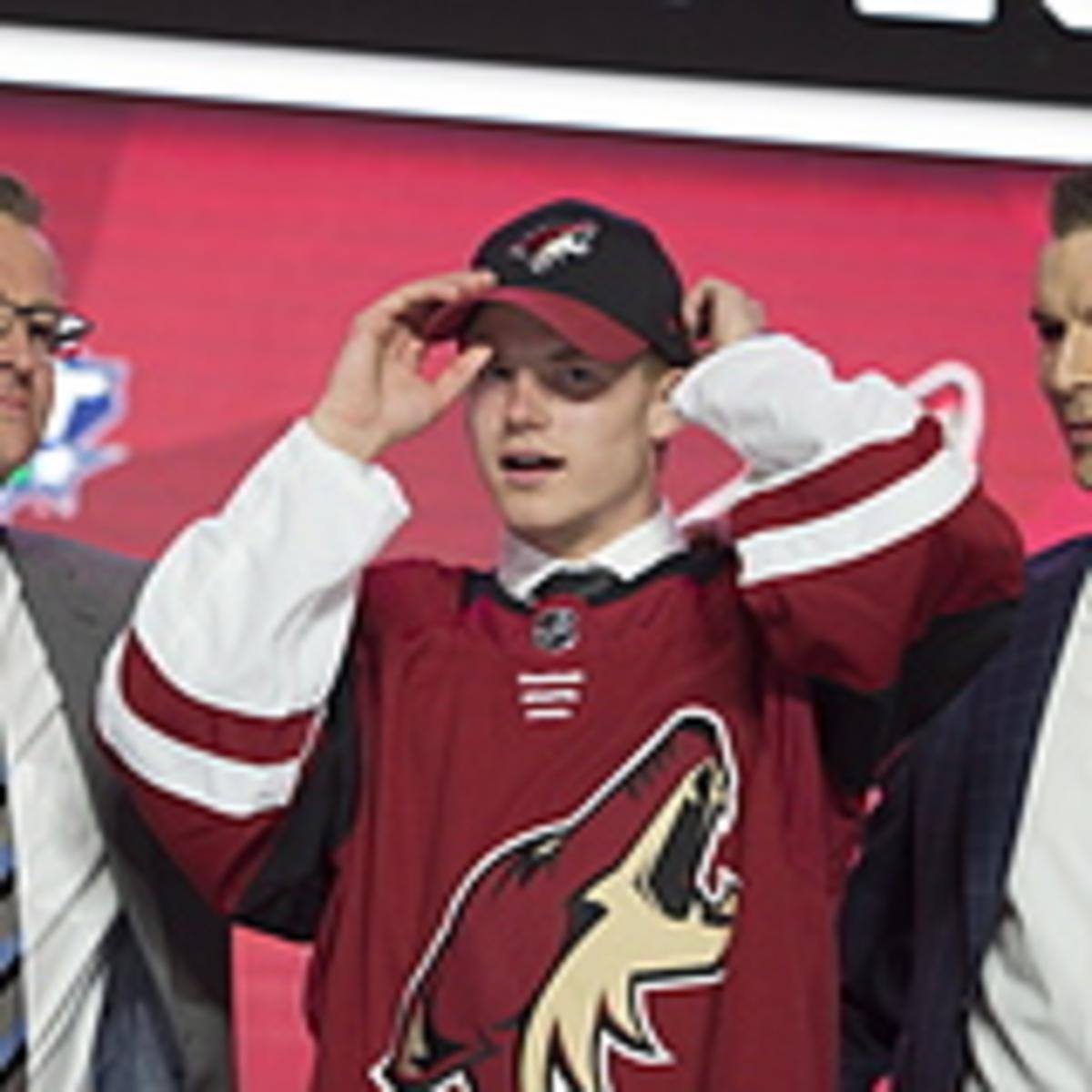 Victor Söderström draftad i första rundan av Arizona: