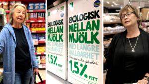 """Efterfrågan på ekomjölk går ned – så här tänker örebroarna: """"Kan man vara klimatsmart så ska man vara det"""""""