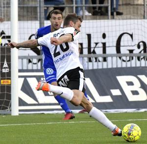 Två chanser och ett mål. Filip Rogic har blivit en pålitlig målskytt för ÖSK den här säsongen. Vinstmålet mot Sundsvall var 25-åringens sjätte i allsvenskan.
