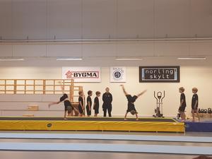 Förberedande tävling Pojk på matta. Foto: Caroline Sandström/Läsarbild