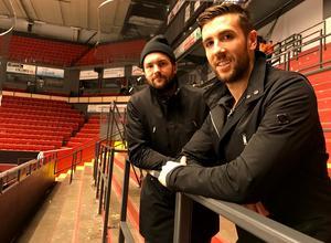 Simon Bertilsson och Ryan Gunderson har lämnat Gavlerinken för Pyeongchang och vinter-OS.