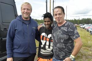 Pierre Steffensson, Bilsportförbundet, Micke Persson, River Valley Racing och Bosse Hårdén, Cruisingen stannar, är tre motorprofiler på River Valley Meet.