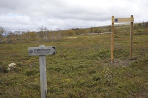 Östfjället eller på svenska kartor numera Härjåhågna.