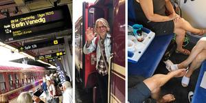 Hej då! En vecka i en tågkupé runt Europa.