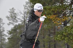 Calle Halfvarsson ska åka mindre för att åka bättre i vinter.