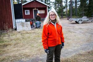 Lisa Skoog har varit vegetarian i 30 år – men jagar samtidigt.