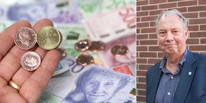 Flera utmaningar finns med den kommunala ekonomin i Nynäshamn, menar kommunalrådet Harry Bouveng (M). Han håller dock inte med Socialdemokraterna om att kommunen befinner sig i ekonomisk kris.