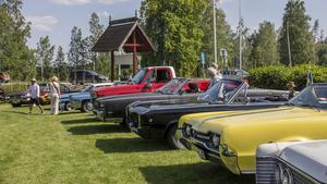 Årets värdförening var Beautytown Cruisers som ställt upp sina bilar inne på hembygdsgården.
